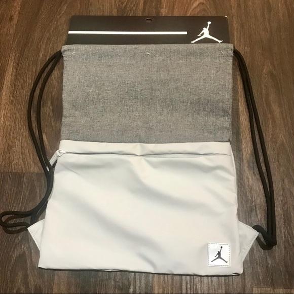 c872efcfa197 Nike Jordan Pivot Gym Sack Drawstring Bag Backpack